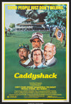 Caddyshack (1980) Movie Poster - Original Film Art - Vintage Movie Posters