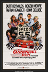 Movie Poster - Cannonball Run (1981)  - Original Film Art - Vintage Movie Posters