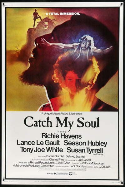 Catch My Soul (1974) Movie Poster - Original Film Art - Vintage Movie Posters