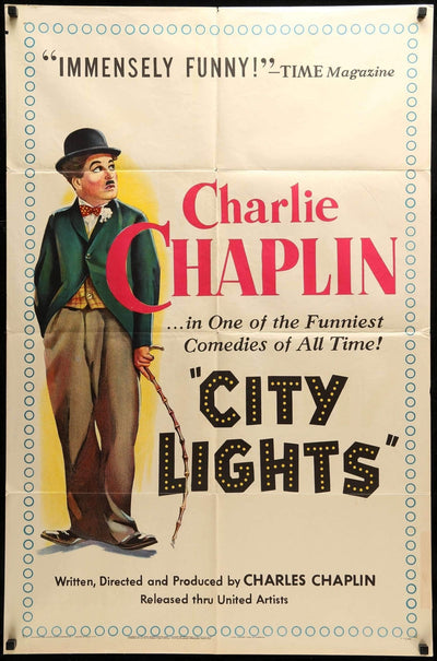City Lights (1931)-Original Film Art - Vintage Movie Posters