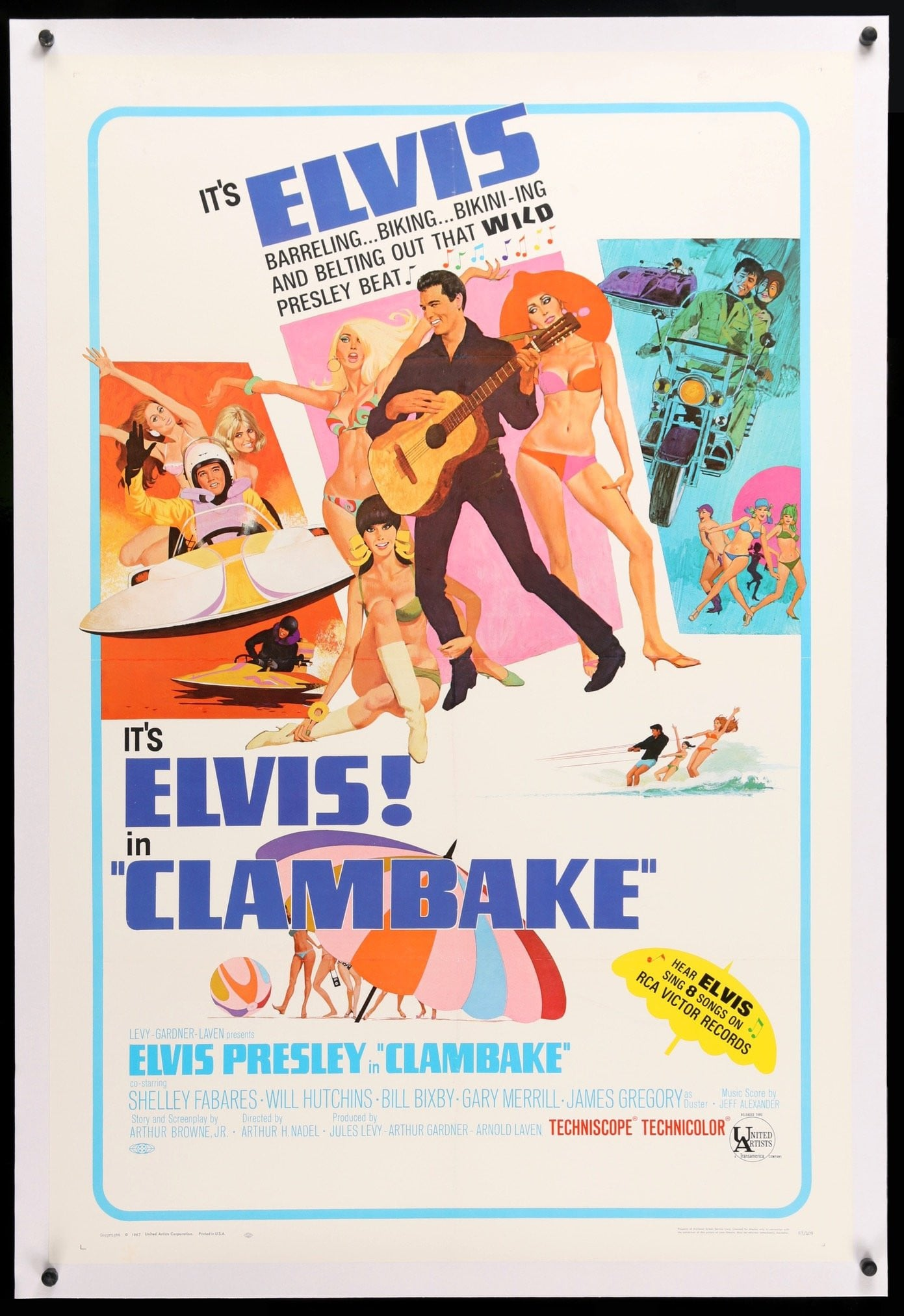 Image result for clambake movie poster