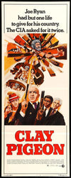 Movie Poster - Clay Pigeon (1971)  - Original Film Art - Vintage Movie Posters