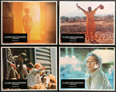 Close Encounters of the Third Kind (1977) Lobby Cards - Set of 8-Original Film Art - Vintage Movie Posters
