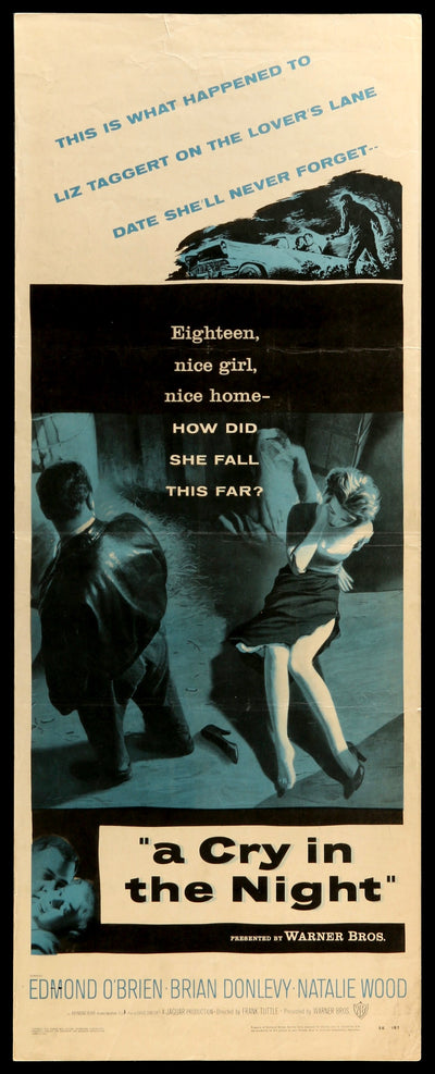 Cry in the Night (1956)-Original Film Art - Vintage Movie Posters