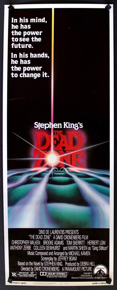 Dead Zone (1983)-Original Film Art - Vintage Movie Posters
