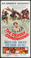 Movie Poster - Deadly Companions (1961)  - Original Film Art - Vintage Movie Posters
