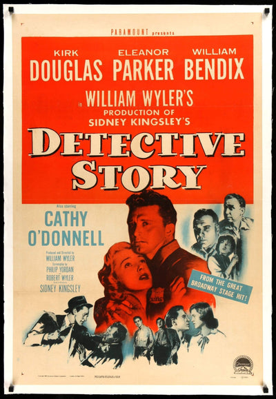 Detective Story (1951)-Original Film Art - Vintage Movie Posters