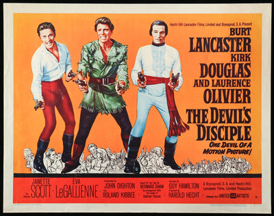 Devil's Disciple (1959)-Original Film Art - Vintage Movie Posters