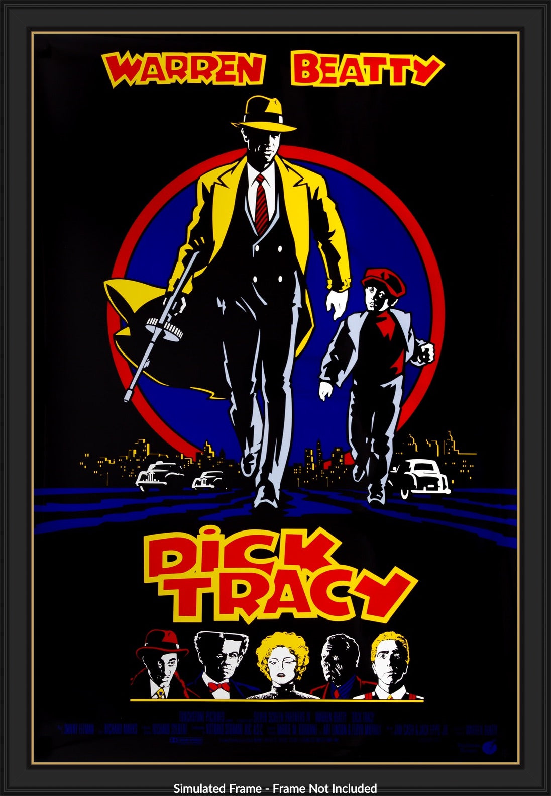Dick Tracy (1990) Original One-Sheet Movie Poster - Original Film ...