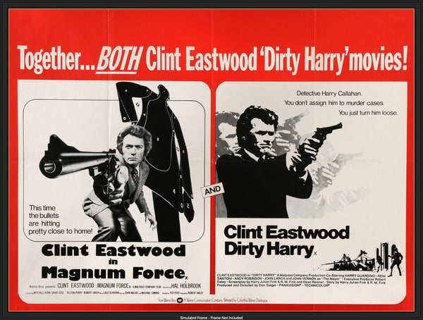 Details about  /Magnum Force FRIDGE MAGNET movie poster dirty harry