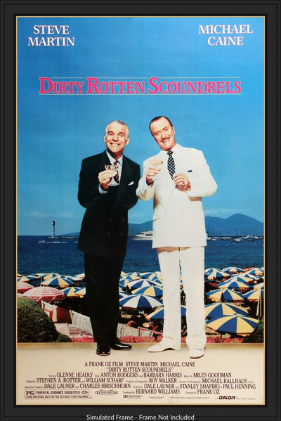 Dirty Rotten Scoundrels (1988)-Original Film Art - Vintage Movie Posters