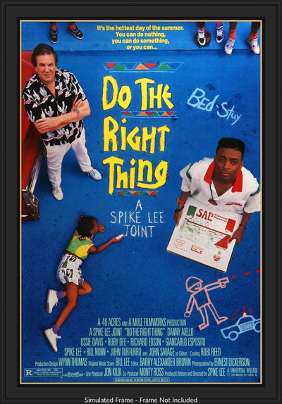 Do the Right Thing (1989)-Original Film Art - Vintage Movie Posters