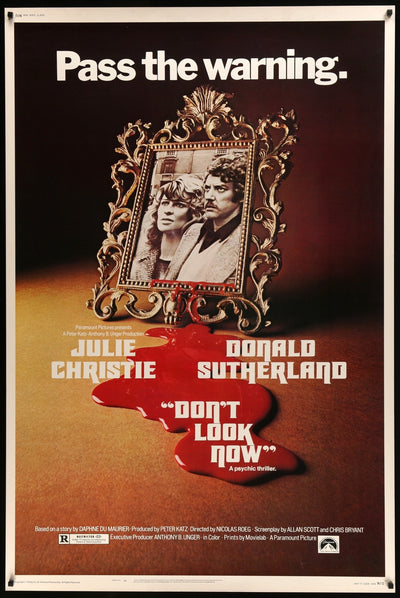 Don't Look Now (1973) Movie Poster - Original Film Art - Vintage Movie Posters