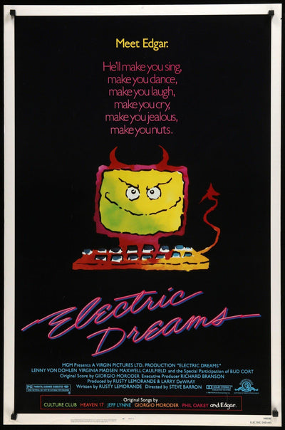 Electric Dreams (1984)-Original Film Art - Vintage Movie Posters