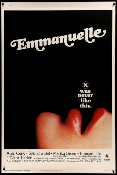 Emmanuelle (1974) Movie Poster - Original Film Art - Vintage Movie Posters