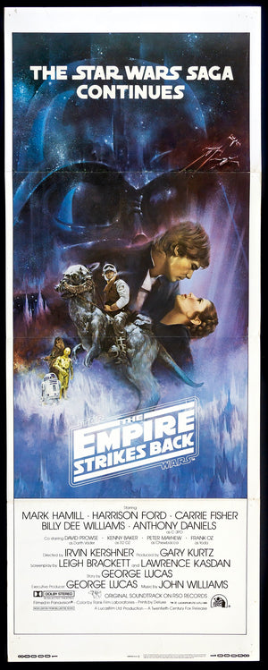 THE EMPIRE STRIKES BACK 1980 STAR WARS Movie Film Poster Print A3 A4 A5
