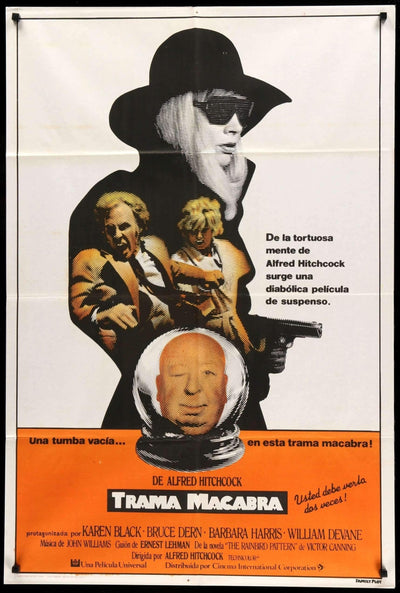 Family Plot (1976)-Original Film Art - Vintage Movie Posters