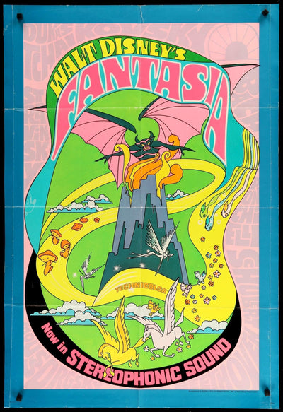 Fantasia (1940)-Original Film Art - Vintage Movie Posters