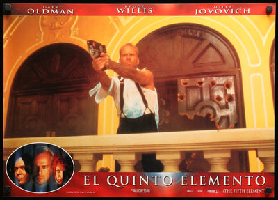 Movie Poster - Fifth Element (1997)  - Original Film Art - Vintage Movie Posters