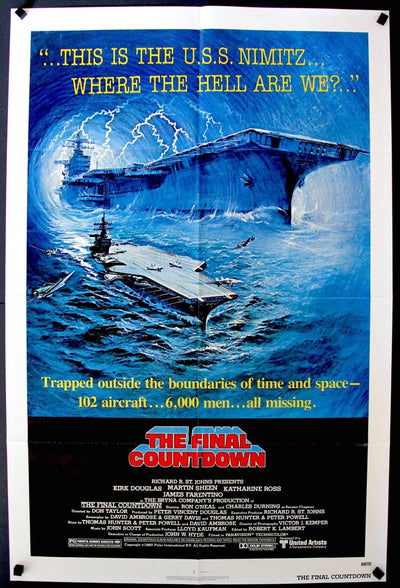 Final Countdown (1980)-Original Film Art - Vintage Movie Posters