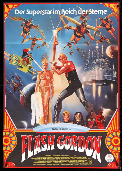 Flash Gordon (1980)-Original Film Art - Vintage Movie Posters