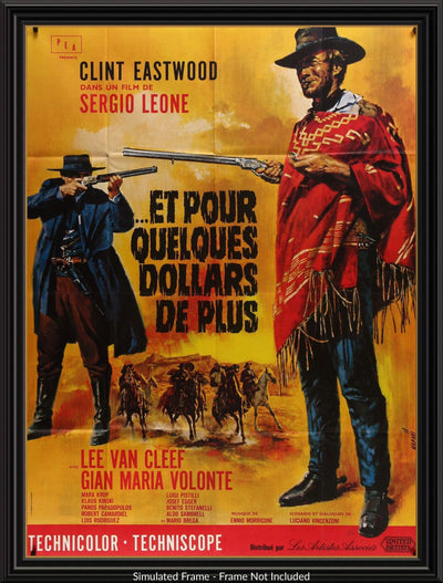 For a Few Dollars More (1965)-Original Film Art - Vintage Movie Posters