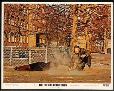 French Connection (1971)-Original Film Art - Vintage Movie Posters