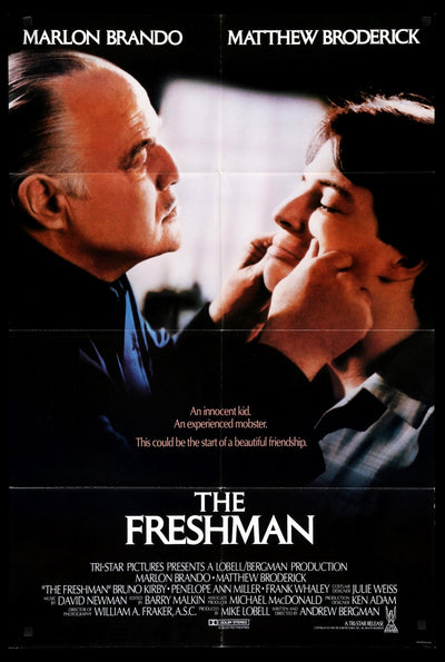Freshman (1990) Movie Poster - Original Film Art - Vintage Movie Posters