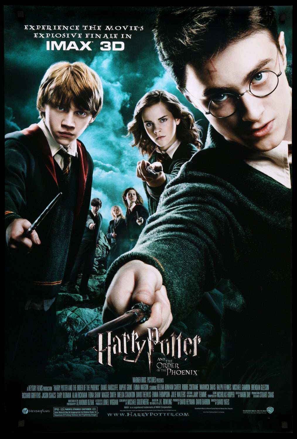 Harry Potter & the Order of the Phoenix (2007) One-Sheet Movie ...