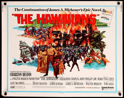 Hawaiians (1970)-Original Film Art - Vintage Movie Posters