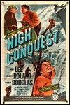 Movie Poster - High Conquest (1947)  - Original Film Art - Vintage Movie Posters
