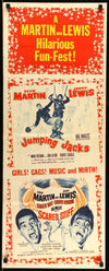 Jumping Jacks (1952) / Scared Stiff (1953)-Original Film Art - Vintage Movie Posters