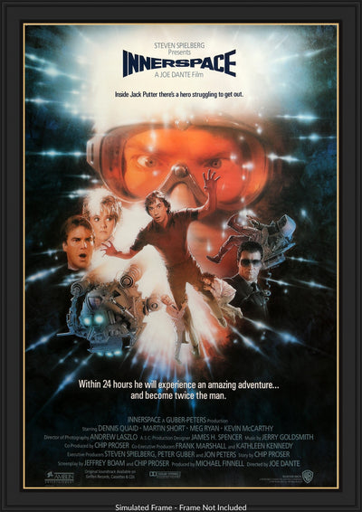 Innerspace (1987) Movie Poster - Original Film Art - Vintage Movie Posters