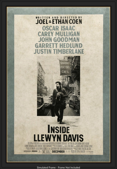 Inside Llewyn Davis (2013) Movie Poster - Original Film Art - Vintage Movie Posters