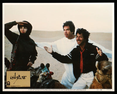 Movie Poster - Ishtar (1987)  - Original Film Art - Vintage Movie Posters