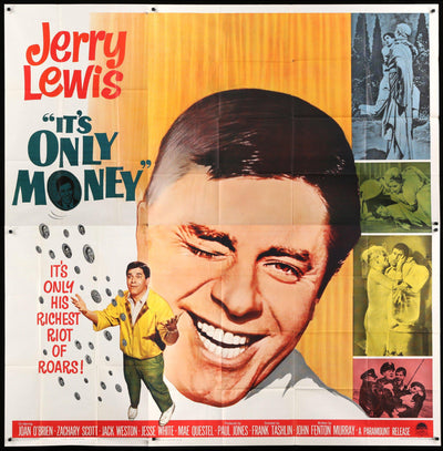 It's Only Money (1962)-Original Film Art - Vintage Movie Posters