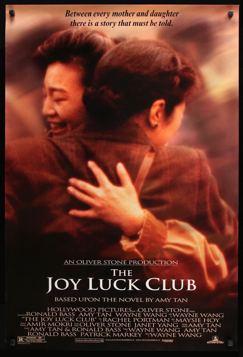 """The Joy Luck Club"" movie poster, one of our favorite movies that explores female relationships!"