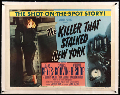 Killer That Stalked New York (1950)-Original Film Art - Vintage Movie Posters