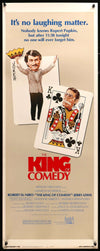Movie Poster - King of Comedy (1983)  - Original Film Art - Vintage Movie Posters