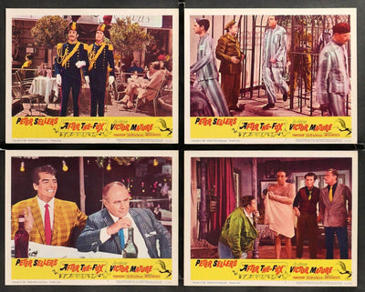 After the Fox (1966) Lobby Cards - Set of 8-Original Film Art - Vintage Movie Posters