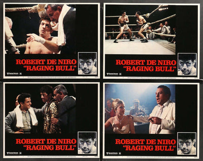 Raging Bull (1980) Lobby Cards - Set of 7-Original Film Art - Vintage Movie Posters