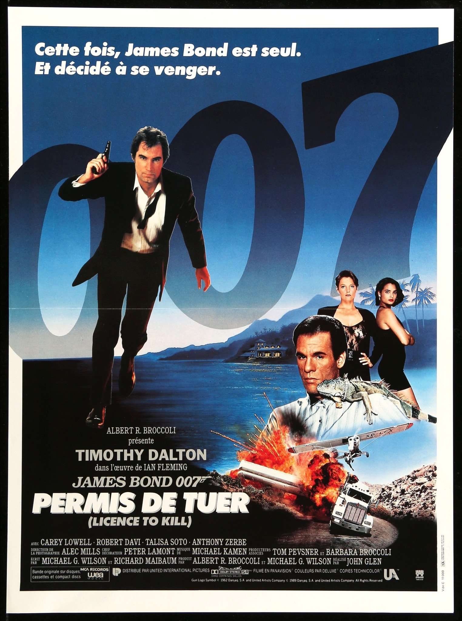 Image result for licence to kill poster