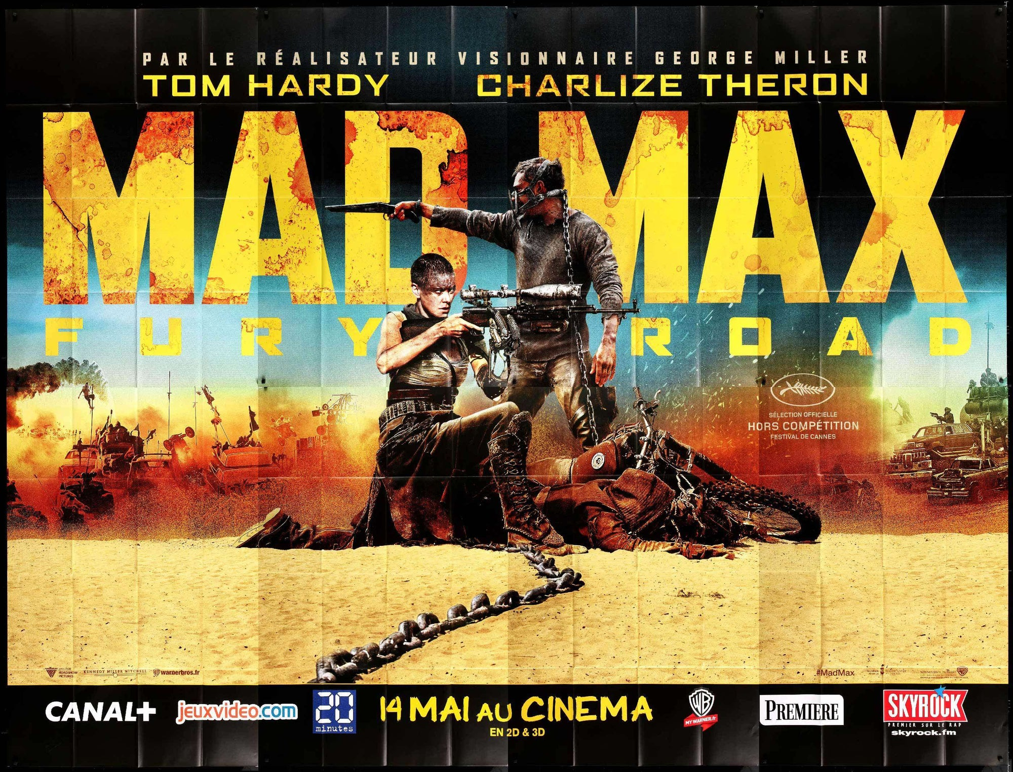 Mad Max Fury Road (2015) 720p + 1080p BluRay x264 AC3 ESub Dual Audio [Hindi DD 5.1CH + English DD 5.1CH]  4.10GB Download | Watch Online