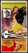 Movie Poster - Man in the Vault (1956)  - Original Film Art - Vintage Movie Posters