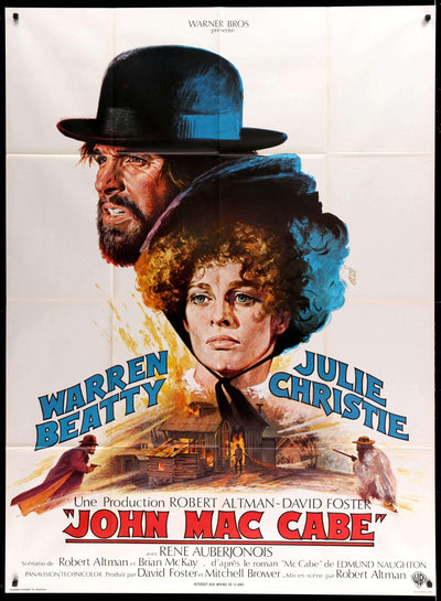 Movie Poster - McCabe and Mrs. Miller (1971)  - Original Film Art - Vintage Movie Posters