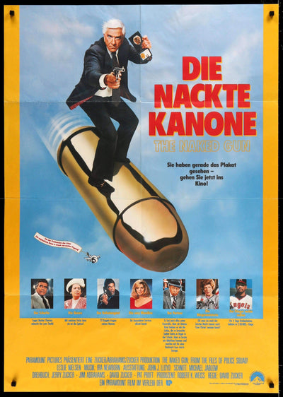 Movie Poster - Naked Gun (1988)  - Original Film Art - Vintage Movie Posters