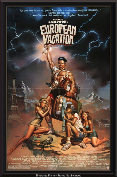 National Lampoon's European Vacation (1985)-Original Film Art - Vintage Movie Posters