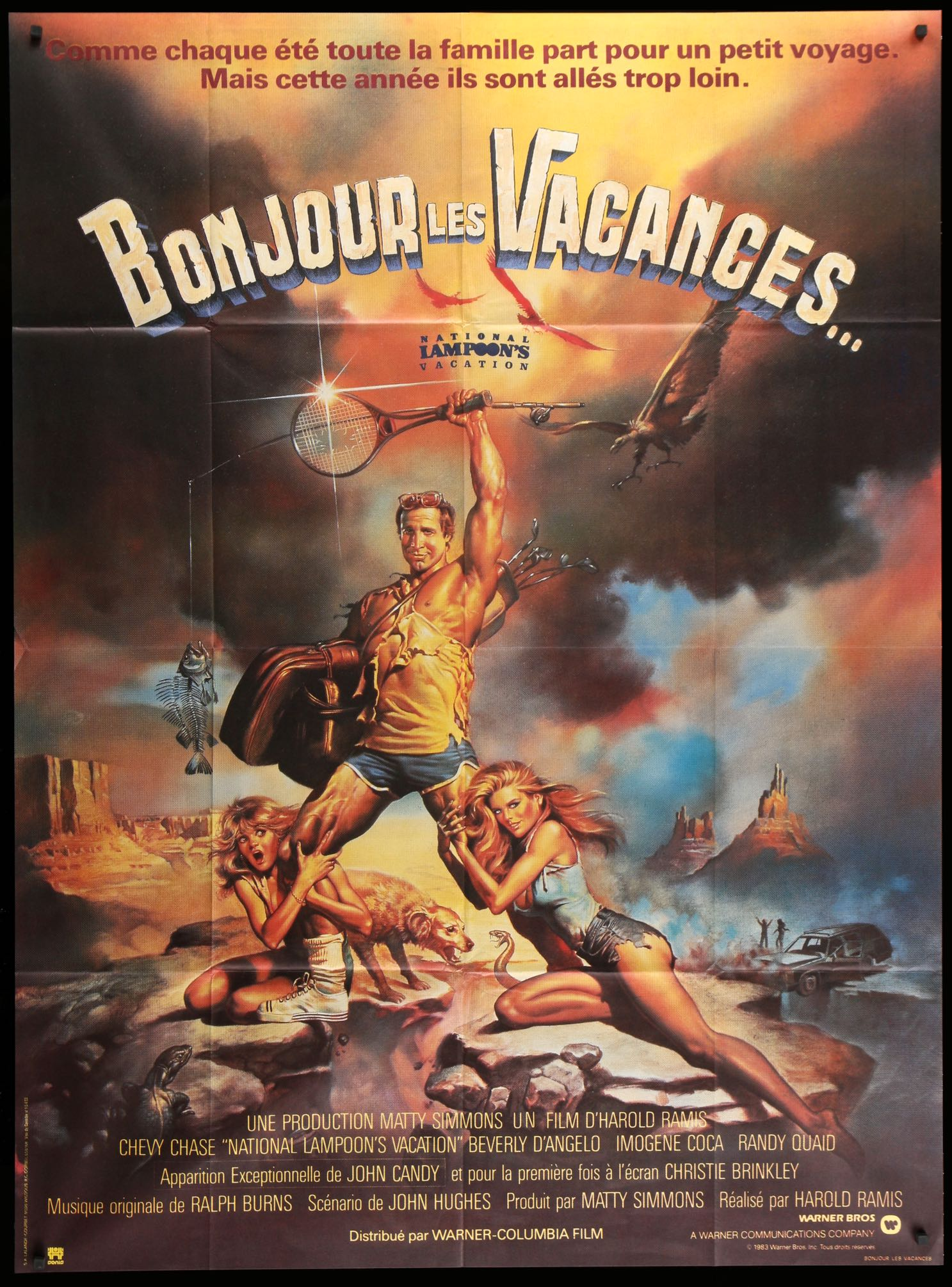 National Lampoon's Vacation (1983) French Grande Movie ...