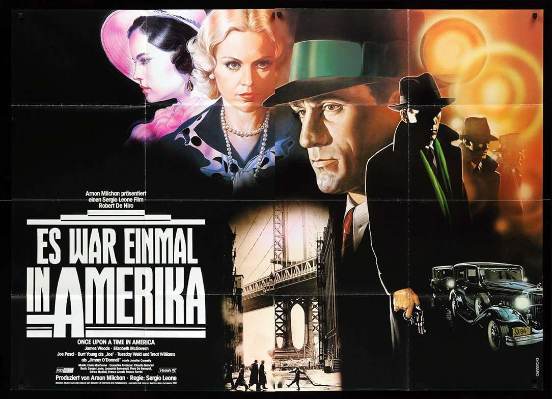 Once Upon A Time In America 1984 Original German Movie Poster