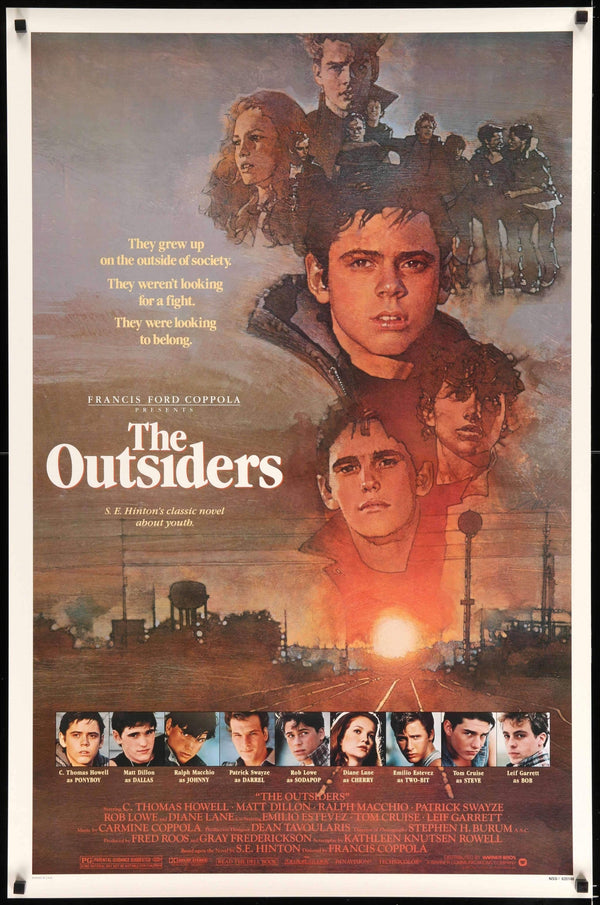 The Outsiders 1983 Original One Sheet Movie Poster
